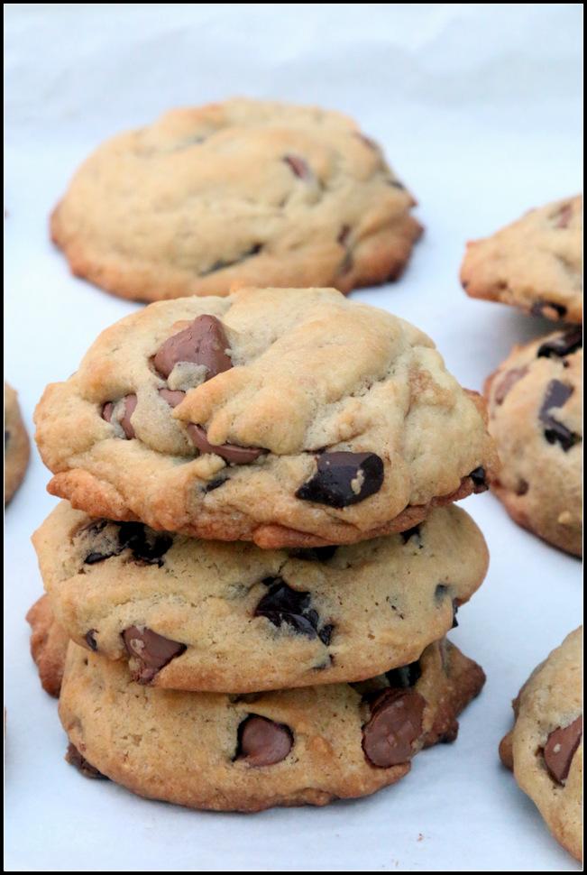 Las mejores galletas choco chip